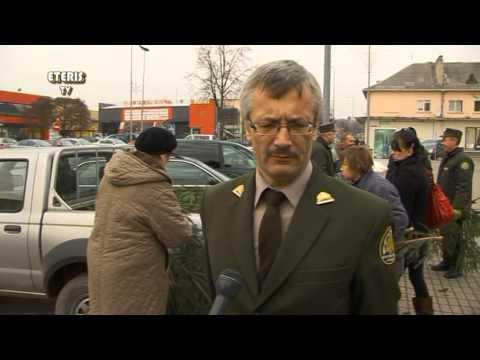 """ETERIS TV 2013.12.23 Prienuose vyko akcija """"Ateik ir parsinešk Kalėdas į savo namus"""""""