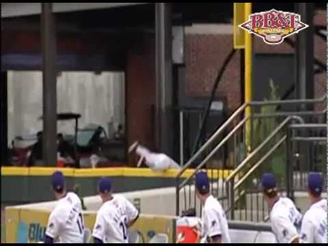 Thumbnail image for 'Winston-Salem Dash--Nick Ciolli robs a home run'