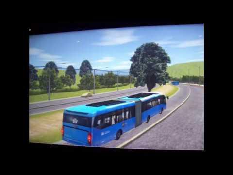 Simulador de ônibus BRT