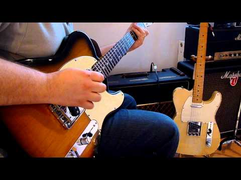 Fender Telecaster Comparison
