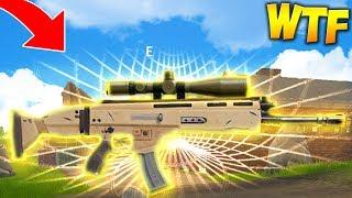 SNIPER SCAR! (Fortnite Battle Royale)