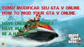 GTA V ONLINE Como Instalar Mods / Ser Um Hacker