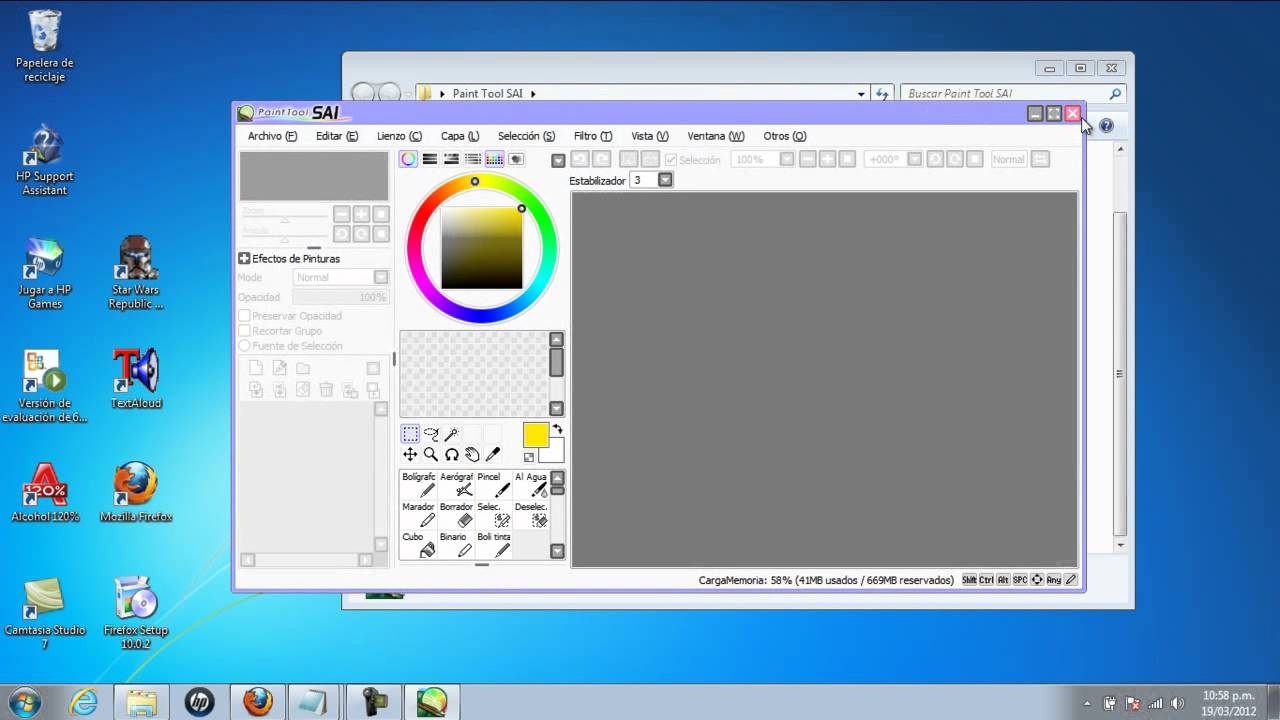 Descargar Paint Tool Sai Full