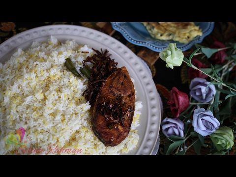 সাদা খিচুড়ি || White Khichuri || Bangla Recipe || Boshakhi Special || R# 133