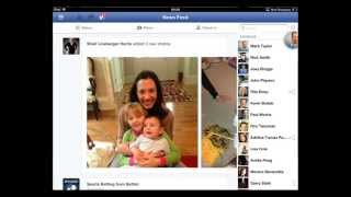 How To Use Facebook Chat On IPad