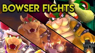 Evolution of 3D Bowser Fights in the Super Mario Series (1996 - 2017)