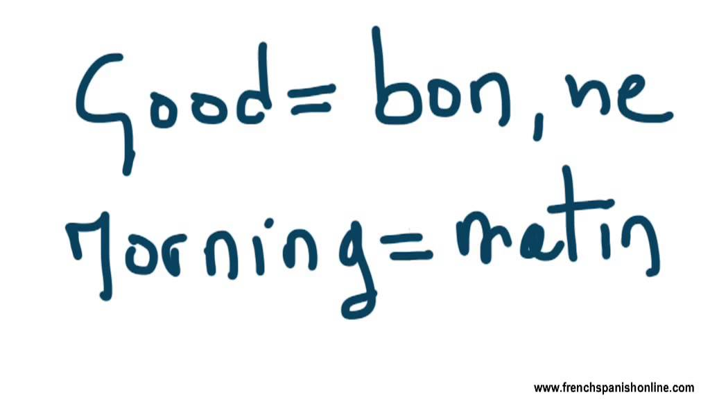 Google Good Morning In French : Good morning in french youtube