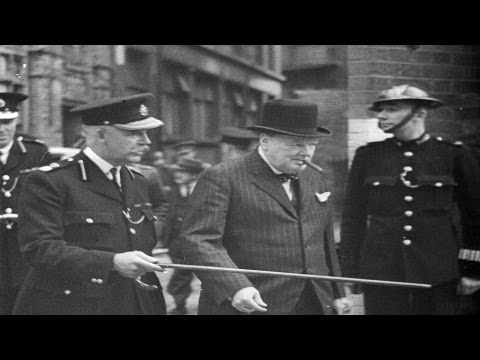 HD Stock Footage WWII 1940 Newsreel - Nazi Blitzkrieg - Dunkerque - Churchill - Roosevelt - Draft
