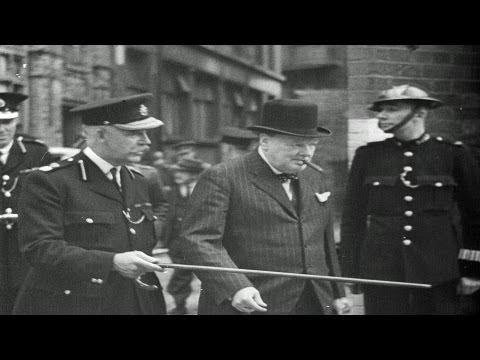 HD Stock Footage WWII 1940 Newsreel - Nazi Blitzkrieg - Dunkerque - Churchill - Roosevelt - Draft