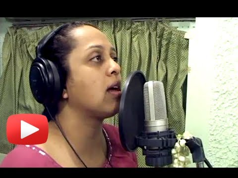 New Marathi Movie Ghungarachya Nadat - Song Recording - Vaishali Samant, Suresh Wadkar