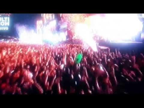 Rock in Rio 2013- David Guetta-Titanium -LIVE