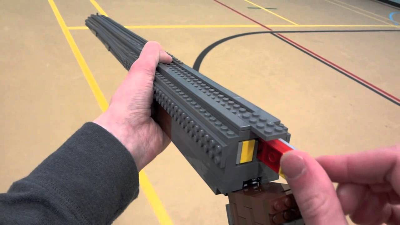 lego guns how to build life size