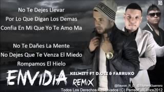 Envidia (Remix) Farruko Ft DOzi Kelmitt [Con Letra