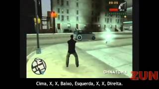 CÓDIGOS GTA LIBERTY CITY STORIES