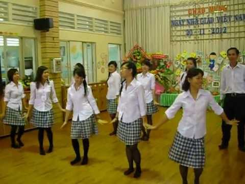 Múa Ngôi trường dấu yêu khối Mầm trường MNTT Hạnh Phúc Quận Thủ Đức
