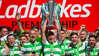 Celtic FC - Trophy lift
