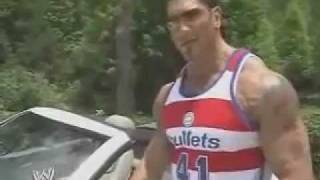Dave Batista Shows Off His Car Collection