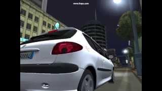 GTA San Andreas: Peugeot 206