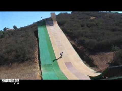tony hawk at bob burnquist 39 s mega ramp youtube