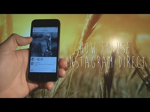 Instagram Direct - How To Use - Gizmo