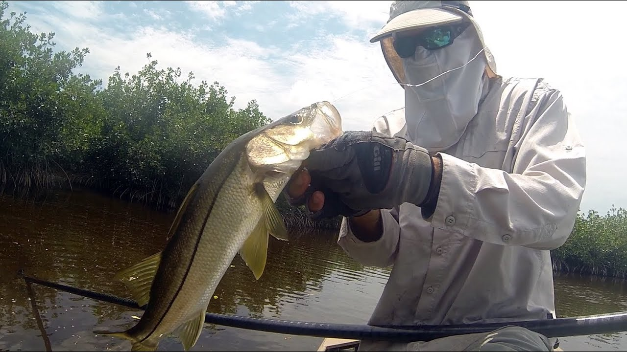 Everglades fly fishing tarpon snook part 1 youtube for Everglades city fishing