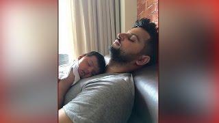 Suresh Raina shares pic of daughter Gracia sleeping & it's adorable