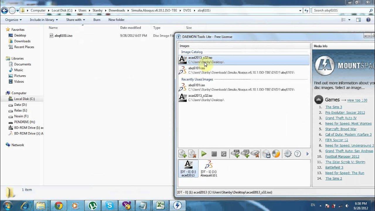 Download torrent abaqus 612