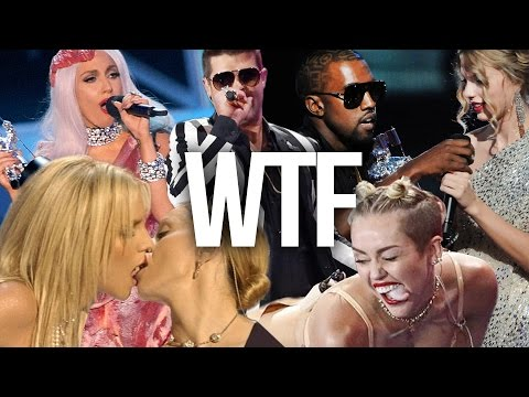 4 MOST WTF MTV VMA MOMENTS OF ALL TIME! (Debatable)