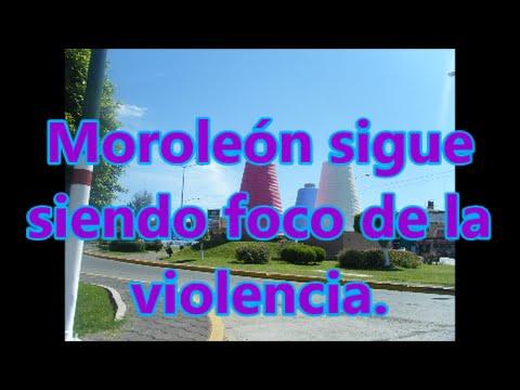 4 hombres y una mujer ejecutados en Moroleón, Guanajuato.