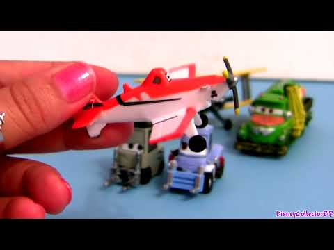 Disney Planes Propwash Junction Figurine Playset Dusty ...