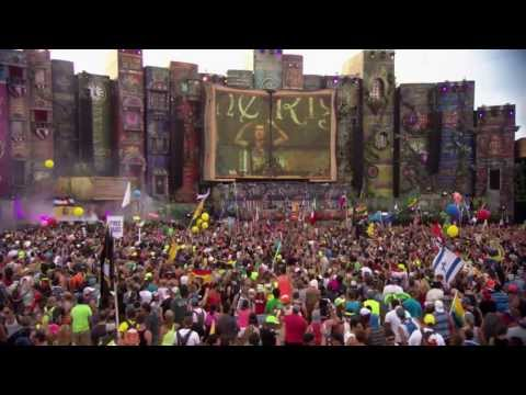 Alesso & Calvin Harris feat. Theo Hutchcraft - Under Control: Nicky Romero Live @ TomorrowWorld 2013