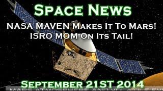 NASA MAVEN Mission To Mars In Orbit! ISRO Mars Orbiter