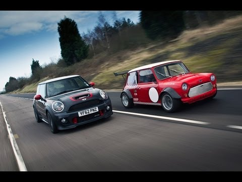 World's fastest Minis - Mini JCW GP vs ZCars Mini Busa - autocar.co.uk