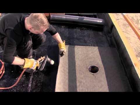17.7.8 Bitumen dakbedekking aanbrengen met