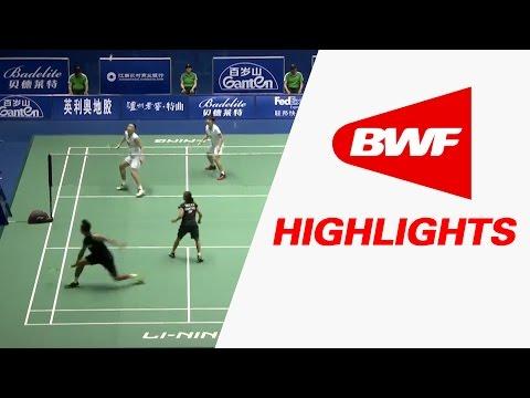 China Masters 2017 | Badminton SF – Highlights
