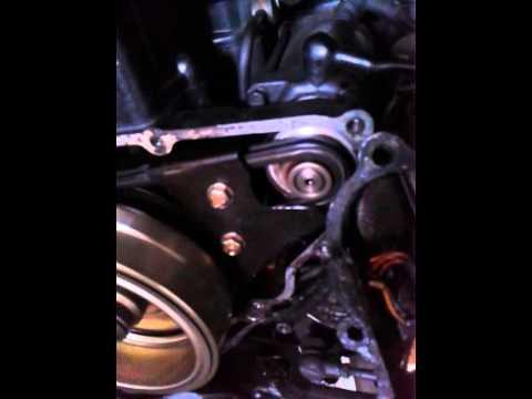 corrente de partida girando em falso (starter chain problem noise) - Ninja EX500