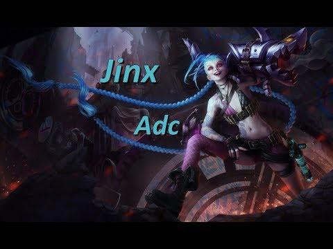LoL Gameplay FR Tryhard - Bot Jinx vs Tristana - Un kill à la minute