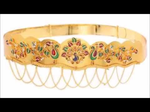 Gold Vaddanam Designs