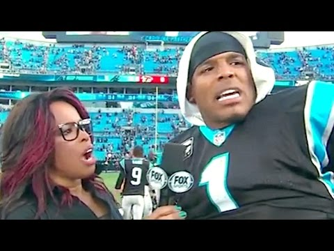 Cam Newton Gets Slapped on the Ass