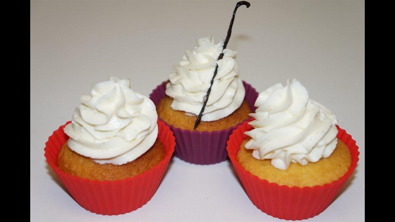 Cupcake a la vanille facile et rapide youtube - Glacage cupcake facile ...