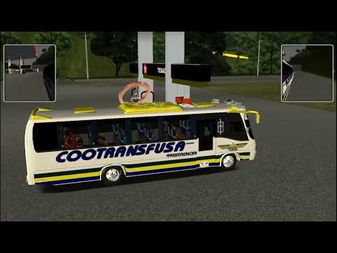 18 WOS HAULIN COLOMBIA BUS COOTRANSFUSA