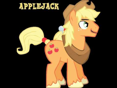 Rule 63 Applejack demo