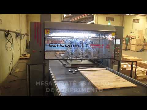 Pregadeira Automática para Embalagens – Modelo Speed 5 (vídeo 2)
