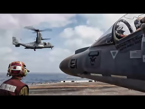 Amphibious Assault Warship - Flight Deck Operations