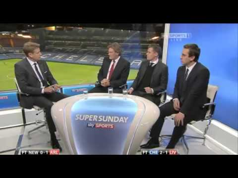 Sky Sports panel praises Arsenal's character after the 1 0 win against Newcastle