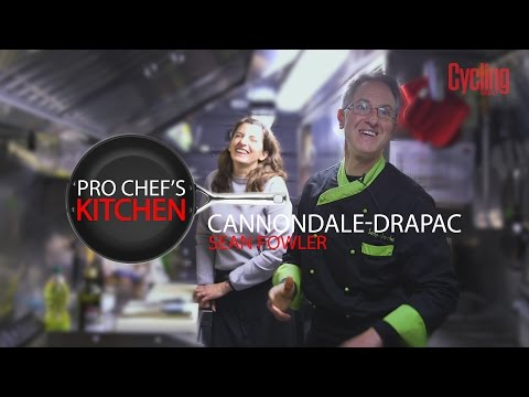 Sean Fowler | Cannondale - Drapac | Pro Chef's Kitchen | Cycling Weekly