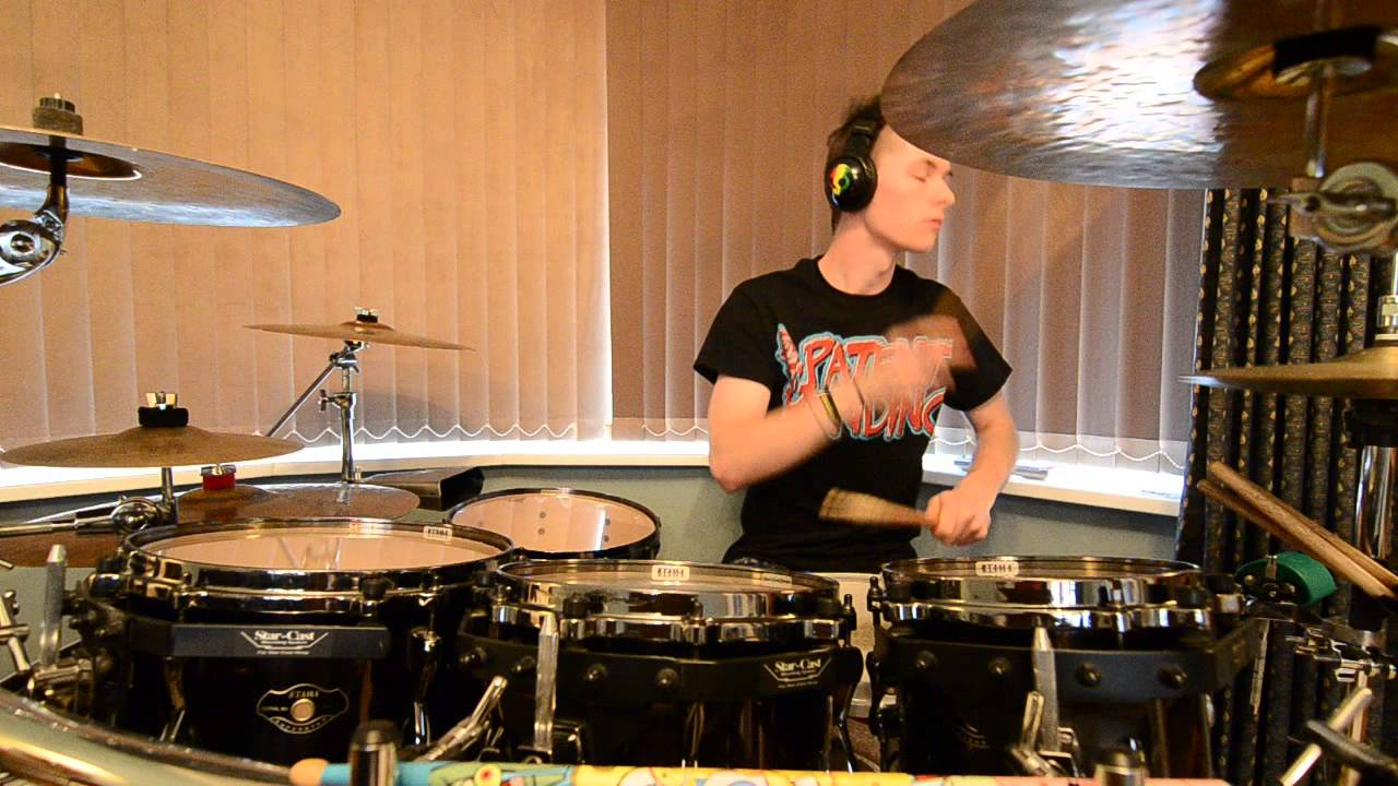 Bowling For Soup -All I want For Christmas Is You (Drum Cover) - YouTube