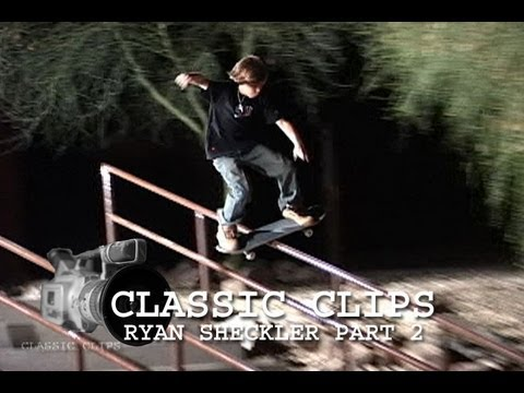 Ryan Sheckler Skateboarding Classic Clips Part 2 #28