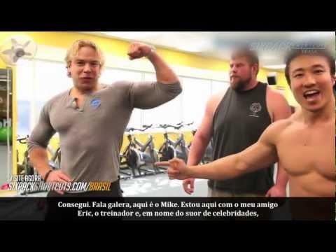 Treino Abdominal ANIMAL - Pro Strongmen vs. Mike Chang - Killer Abs