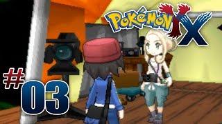 Let's Play Pokemon: X Part 3 Santalune Gym Leader